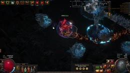 Darkee kills depth 335 Delve boss