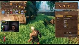 Semana dos jogos Aleatorios - Dia 1: Valheim! Minecraft de Vikings!