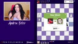 Chill Blitz w Andrea | !chess !insta !youtube