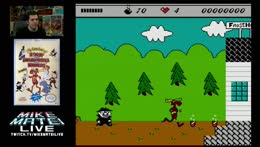 Rocky and Bullwinkle - NES