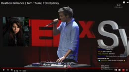 visual learner extraordinaire picks up beatboxing under a second