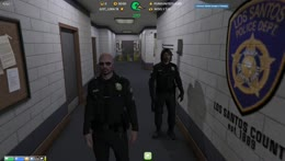 Sgt Baas - The Law - NoPixel | New Christmas Emotes @Ssaab45