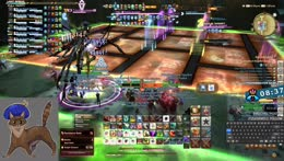 New DR Savage group day 3, 3rd boss enrage prog