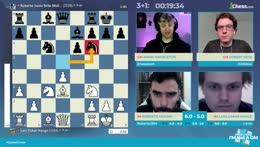 IMSCC Semifinals - IM Molina vs IM Hauge with hosts GM Hess and GM Hambleton