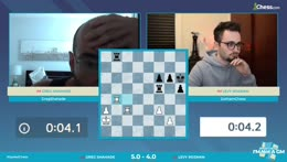 Shahade vs Rozman: Semifinals of IMSCC   Hosts Hess and Hambleton