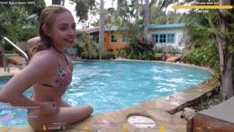pool day :D Aruba Caribbean 🦩 I instagram: melina.goransson