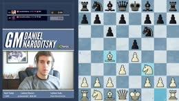 GM Naroditsky | Blitz vs Minh Le| !discord