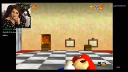 !challenges FIRST TIME MARIO 64 POG Drop a  Hey in chat <3 !socials !confusion