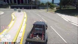 Sick reverse entry drift mid corner