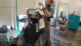 Dying my hair blonde! (COVID-safe, all regulations followed)