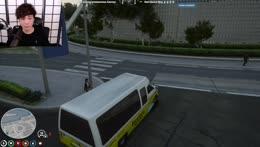 Maniac drives against trafic