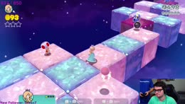 doing HARDEST mario LEVEL EVER CHAMPIONS ROAD COME WATCH NOW!