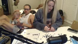 building a lego set bc we are 5!!