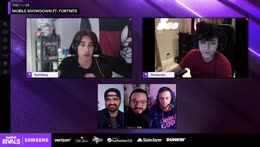 Twitch Rivals: Mobile Showdown ft. Fortnite, presented by Samsung