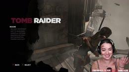 First playthrough of Tomb Raider! Lara Croft Cosplay [Hard Diff.]