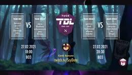 [2-0] Tuck Dota 2 Pro Ligi Yarı-Finalleri Team Rocco vs Team NRS (BO3) , ardından Team Dingo vs Team Sneaky- !tuck !lig !match