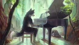 Piano Doggo