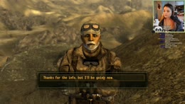 Trying to survive the post apocalyptic dystopia that is Fallout: New Vegas~ o3o