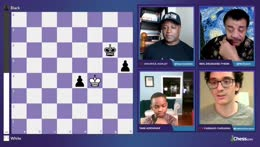 GM Maurice Ashley talks all things chess! Tonight, Neil deGrasse Tyson!! Astronomical chess puzzles! And a visit from a Top Ten player!!
