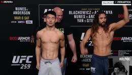 UFC 259 DRAMA