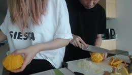 Cooking Deelights~! White Fish w/ Orange Sauce
