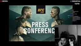 Israel Adesanya  has lost!!!!!!!!!!!! (FULL PRESS CONFERENCE)