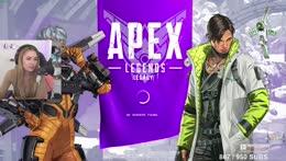 Exploring the new Apex season 🙂 | 💗 !socials 💗 !code !newvid