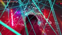 Party Budeeeeee, Krasse Lichtshow und Nebel abfahrt <Epelepsie warnung>