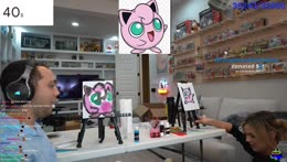 Mizkif and Malena Show Eachother their jigglypuff drawings.