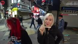 Tokyo, JPN Day 6 - Big in Ueno w/ !Star and Christine - Happy #AnimeDay! | !social !discord