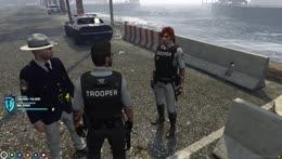 207 Trooper A.J. Hunter   NoPixel   !youtube !newvid