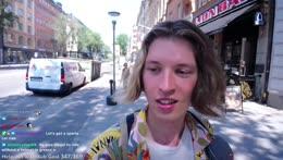 First day in Sweden Stockholm IRL | 100 bit/$1 TTS