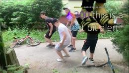 Výuka tance na škole v přírodě