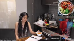 COOKING STREAM WITH !ANTON ~ making a poke bowl | !wealthsimple !brave !nord