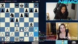 3+2 match against WGM !Dina | 12th of July - FIDE WOMEN'S WORLD CUP in Russia | !wealthsimple !brave !nord