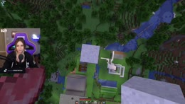 CloutCraft building and mining |  Follow @Mariss