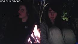 HOT TUB DEAD | Bonfire Stream instead :)