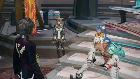 Trying out this phantasy star online