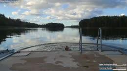 swimming in the Stockholm archipelago  💕 | instagram: melina.goransson