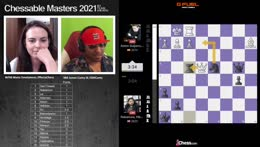 $1.6M Chessable Masters with GM Hikaru Playing   !hosts !pairings !players