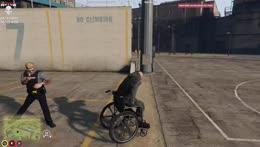 Wheel Chair get away