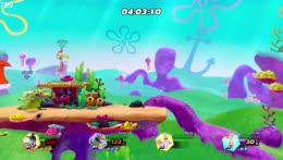 Spongebob Smash  with Elena, Mantis and Shiny