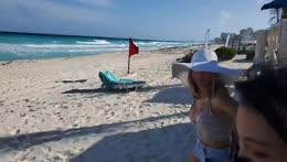 Tech stream! Cancun Beach with Alinity!