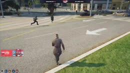 the run of a desperate man