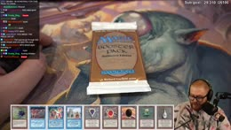 UNLIMITED MTG BOOSTER PACK - UNSEARCHED, HERE WE GO