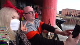 IRL Stream in Liverpool - Beatles Story, Royal Albert Dock, Making Flower Crown & more | !socials
