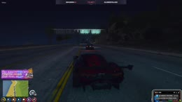 Hutch helps Ramee in a police chase