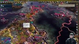 문명6로 하는 오징어 게임 (지구온난화 100% 침수모드) Sid Meier's Civilization® VI