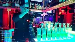 Pro bartender moves