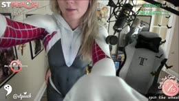 SPIDER GWEN COSPLAY :D | Last stream before Texas